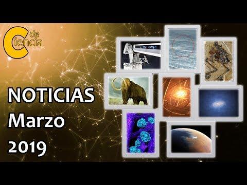 Noticias científicas marzo 2019