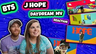 J Hope 'Daydream (백일몽)' MV BTS REACTION