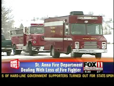 St. Anna Fire Dept. struggles with loss
