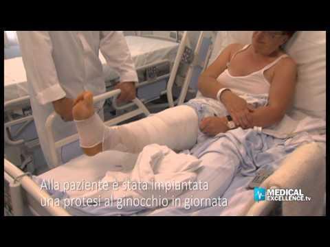 Un trattamento di protrusione disco spinale