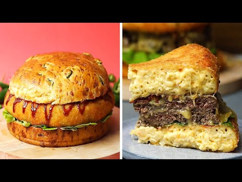 These Recipes Will Take Your Burgers to a Whole New Level