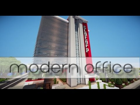Modern office minecraft project
