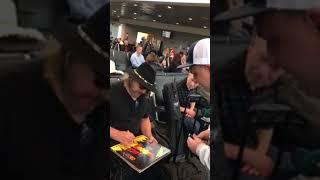 Don Dokken DOKKEN Signing Autographs Team Derek