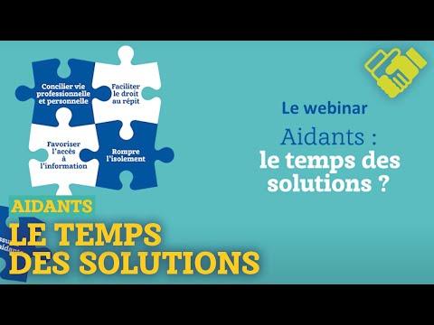 Aidants : le temps des solutions