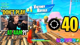 I Played TRIOS FILL At 4AM On A School Night And REGRETTED It After THIS... (super Sweaty)