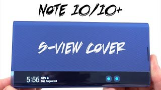 Samsung Official Clear S-View Flip Cover for Galaxy Note 10