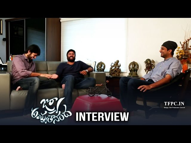 Jyo Achyutananda Team Funny Interview | Nara Rohith | Naga Shaurya | Srinivas