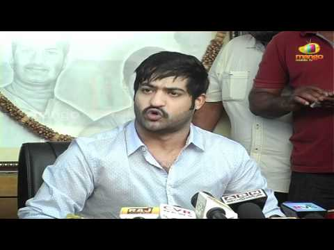 Jr. NTR - Political Press Meet   Jr.NTR Press Meet   Telugu FilmNagar