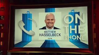 ESPN's Matthew Hasselbeck on Pro Bowl in Hawaii vs. Orlando | The Rich Eisen Show | 1/25/18