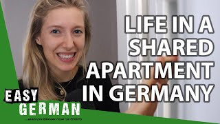 Life In A Shared Apartment In Germany | Super Easy German (111)