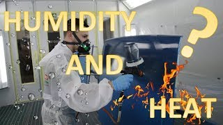 Does Humidity and temperature affect spraying?