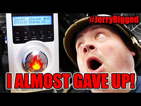 PC Speaker Amplifier Power Button Repair Gone Wrong! #JerryRigged