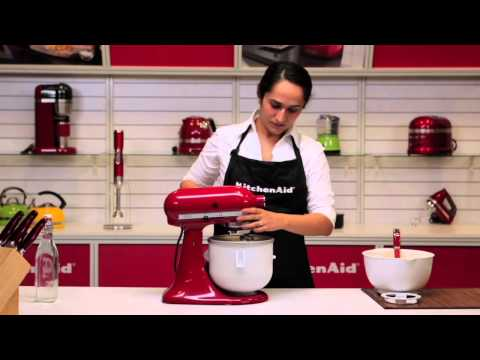 Video KitchenAid® Ice Cream Maker Attachment