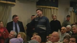 Борис Шевчук вопрос по Восточная хорда(ВСД). Публичные слушания в Красногвардейском