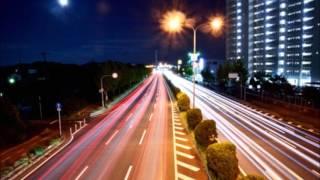 道路のイルミネーション!大阪夜景穴場スポット