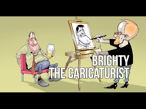 Brighty The Caricaturist Video