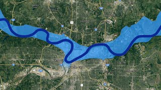 Why Has the Missouri River Near Kansas City Changed So Much? | #curiousKC