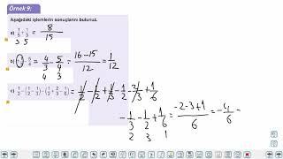 Eğitim Vadisi TYT Matematik 10.Föy Rasyonel Sayılar 1 Konu Anlatım Videoları