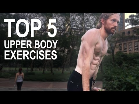 Top 5 Upper Bodyweight Exercises From Parkour