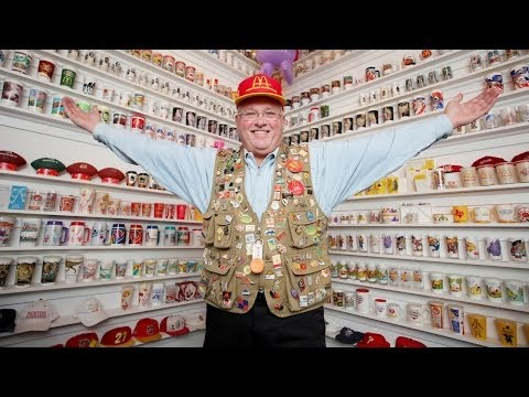 This Guy Collected 75,000 McDonald's Items Over 50 Years