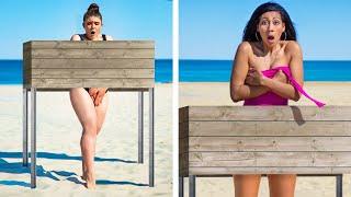 Problemas de chicas con piernas largas vs con piernas cortas / Problemas de gente alta vs baja