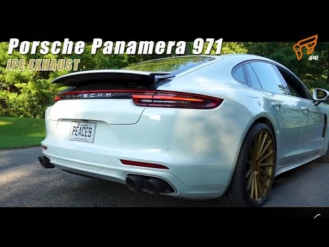 The iPE Exhaust for Porsche 971 Panamera 3.0T