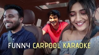Desi Carpool Karaoke Ft Larissa Dsa | India Vlog