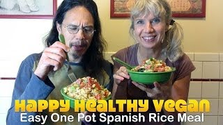 Easy Steamed Spanish Rice (Our Infamous WFF Meal)