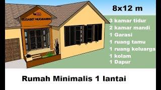 Desain Rumah Minimalis 2 Lantai 8 X 12 免费在线视频最佳电影电视