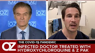 An E.R. Doctor Infected With Covid-19 Back At Work After Using Hydroxychloroquine And Z-Pak Protocol