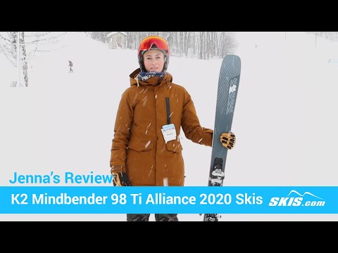 Video: K2 Mindbender 98 TI Alliance Skis 2020 8 50