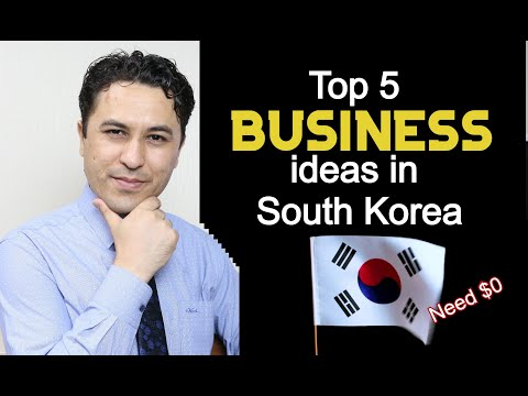 , title : 'Top 5 Small Business ideas in South Korea.