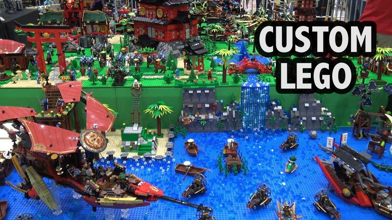 Giant LEGO Ninjago Village   Brick Fest Panama 2018