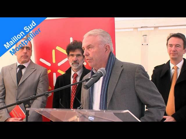 Maillon Sud : 2011 - inauguration de la 1ère phase du chantier