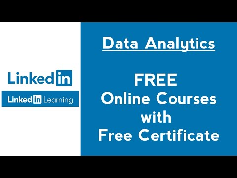 LinkedIn Learning Free Data Analytics Courses with Certificate ...
