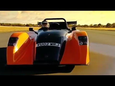 Westfield XTR power lap | Top Gear | BBC