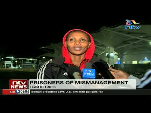 Kenya prisons volleyball team returns after government order to exit Africa tourney