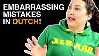EMBARRASSING Mistakes When Speaking DUTCH!  #3