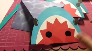 Shark Pool Party Invitations