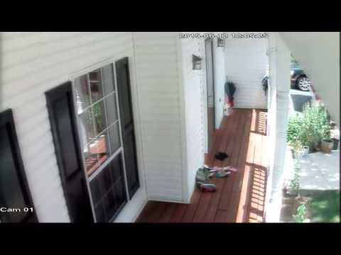 Review and Demo of Defeway AHD 720P DVR 1200TVL Outdoor Night Vision Security Camera System