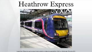 Heathrow Express Train Care Facility, London