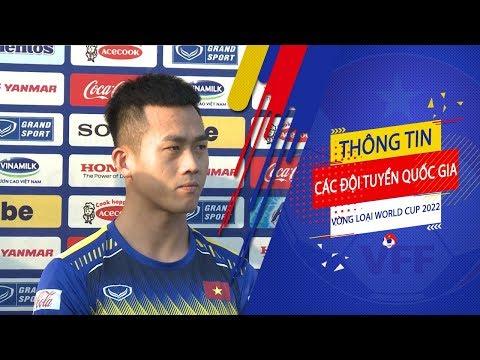 Hà Minh Tuấn: Em luôn sẵn sàng để ghi bàn vào lưới UAE và Thái Lan