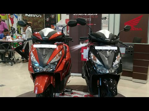 HONDA Grazia || 125 cc Scooter || First Look||Review||by RS Ride