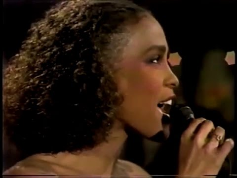Whitney Houston - Saving All My Love For You (Live at David Letterman Show 1985)