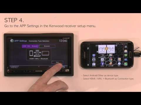 Video of KENWOOD Smartphone Control
