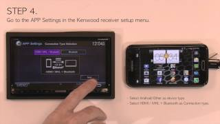 Kenwood Smartphone Control Setup for Android