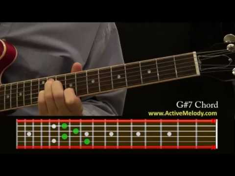 How To Play a G#7 (Sharp) Chord On The Guitar
