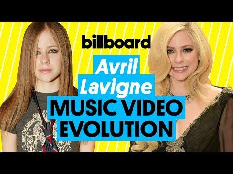 Avril Lavigne Music Video Evolution: 'Complicated' to ''Head Above Water' | Billboard (видео)