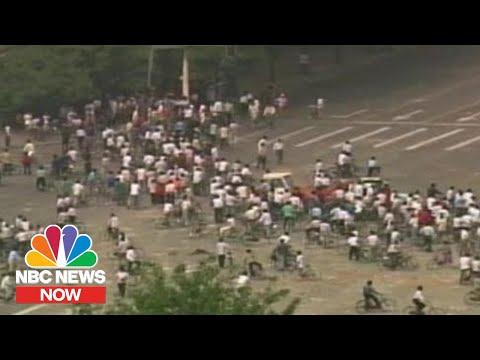 NBC reporting on Tiananmen Square 4th June 1989