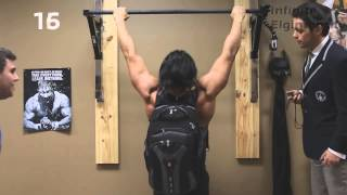 The Pullup King Who Can't Do Pullups